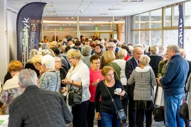 Podczas I Forum Seniora w spotkaniu uczestniczyło ok. 400 osób
