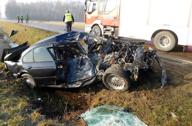 W wypadku na DK 63 zginął kierowca BMW