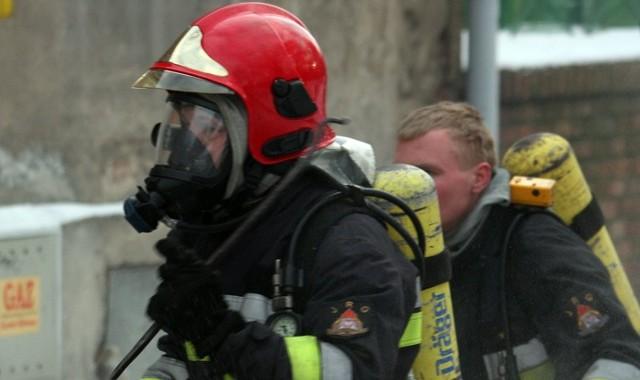 Pożar wybuchł wewnątrz hali DBW w Górzykowie