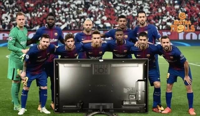 """Sensacja w Lidze Mistrzów. FC Barcelona wyeliminowana przez AS Roma. Barcelona roztrwoniła w Rzymie trzybramkową zaliczkę z pierwszego meczu (4:1), przegrywając z """"Wilkami"""" 0:3. Internauci nie mieli litości dla zawodników Dumy Katalonii. W drugim meczu Liverpool pokonał Manchester City 2:1 i w dwumeczu wygrał aż 5:1, a jednym z bohaterów był Mohamed Salah, strzelec jednego z goli, który zdobył już 39 bramek w sezonie.Zobaczcie najlepsze MEMY znalezione w sieci >>>>>>"""