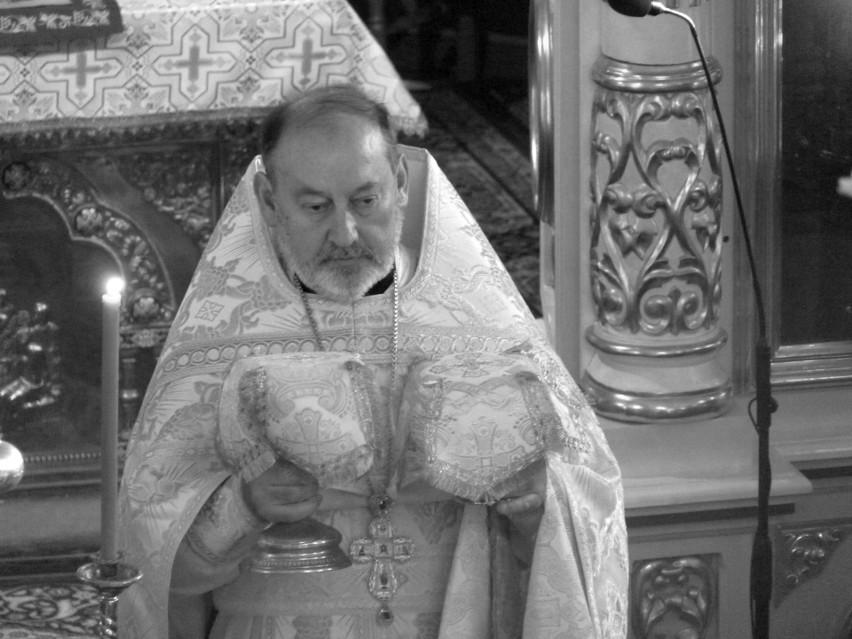 Ksiądz mitrat Mikołaj Mielniczuk