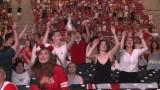 Euro 2020. 20 tysięcy osób oglądało mecz Polska - Hiszpania w strefie kibica na Stadionie Narodowym [WIDEO]