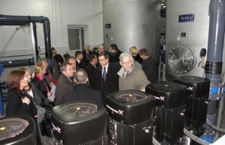 W 2011 roku otwarto przebudowaną stację uzdatniania wody w Kruszwicy
