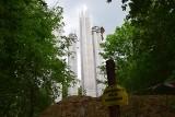 Wieża Kleista w Słubicach pnie się do góry. Zobaczcie, jak idą prace!