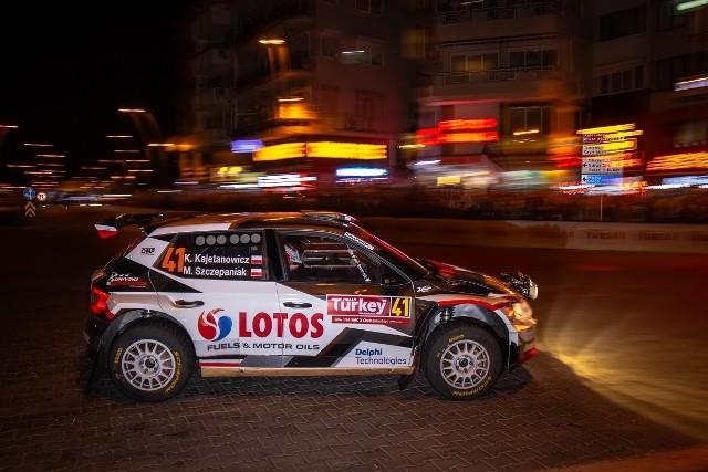 Rajd Turcji 2019: Kajetanowicz i Szczepaniak liderami w WRC 2 po pierwszym odcinku