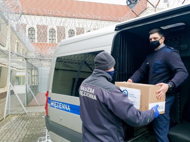 Wszystkie dary  z ZK w Koronowie już trafiły do bydgoskiej Bazyliki