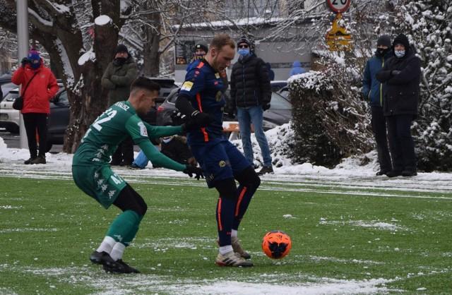 W zimowych sparingach piłkarze Odry lepiej spisywali się w ataku niż w obronie.