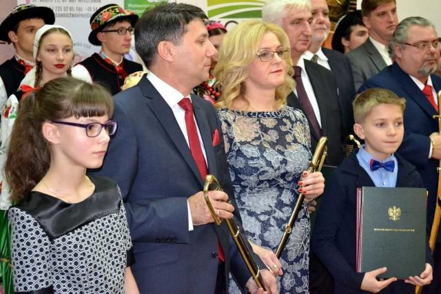 Grażyna i Andrzej Remisiewiczowie zostali laureatami konkursu Agroprzedsiębiorca 2017