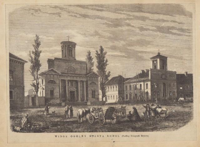 Tak wyglądał ratusz w pierwszej połowie XIX wieku