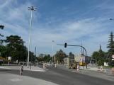 Remont skrzyżowania przy cmenatrzu w Pabianicach zakończy się przed 1 listopada? ZDJĘCIA