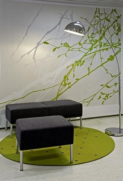 Za pomocą szablonów można wyczarować takie dekoracje na ścianęZa pomocą szablonów można wyczarować takie dekoracje na ścianę