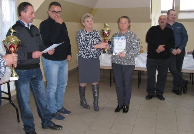 Dyplom otrzymuje Małgorzata Soja.