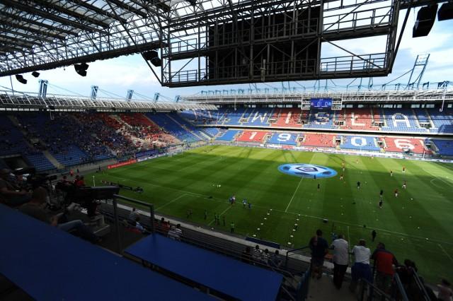 Stadion Miejski przy Reymonta, na którym występuje Wisła Kraków. Zaległości za jego wynajem przez klub przekroczyły 4,4 mln złotych