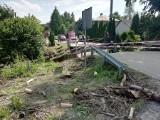 Trudna sytuacja na drogach w rejonie Łańcuta. Woda zniszczyła drogi i mosty [ZDJĘCIA]