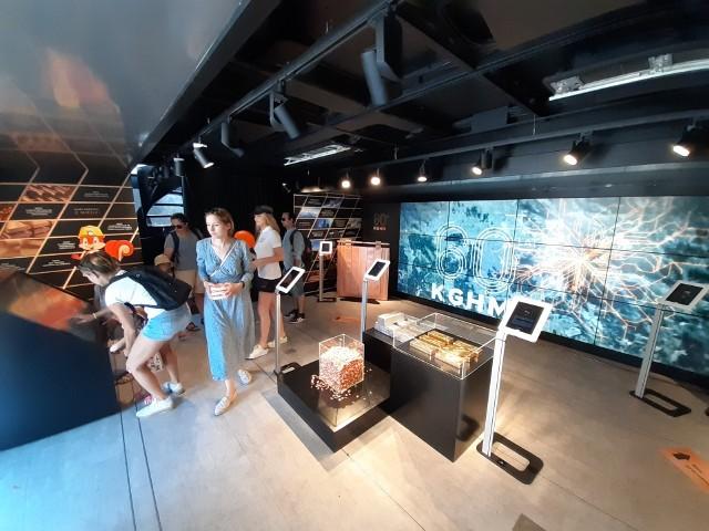 Na uczestników wystawy czeka wiele atrakcji - m.in. wirtualna podróż po kopalni.