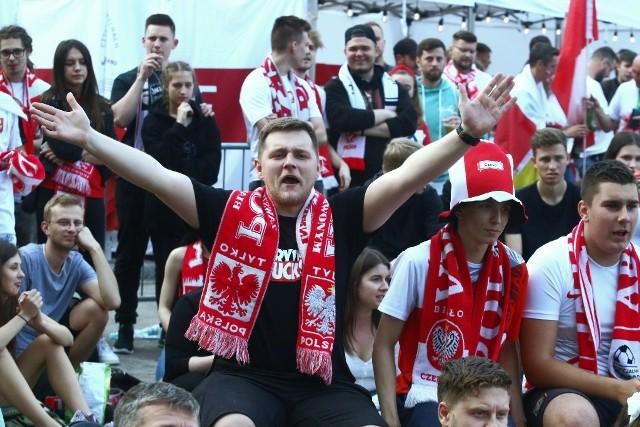 Wrocławianie kibicowali reprezentacji Polski na Euro 2020