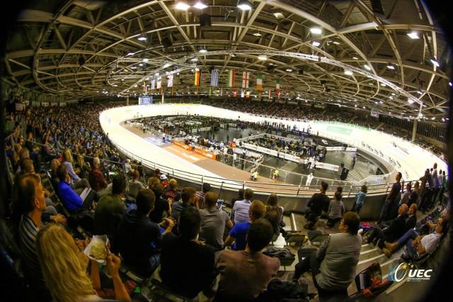 Arena zmagań torowców w Berlinie.