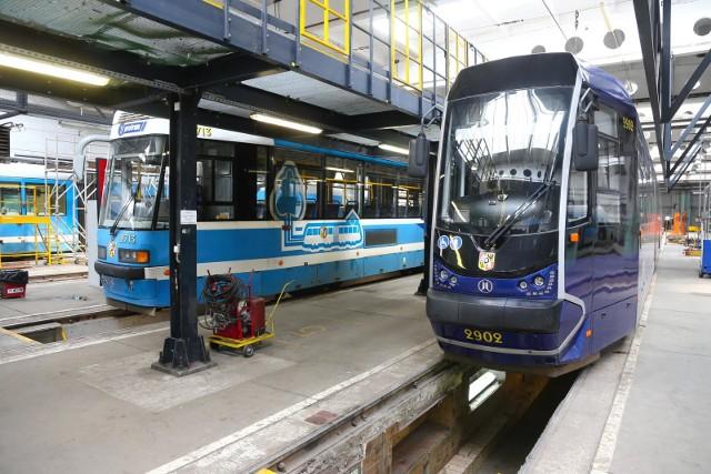 40 tramwajów z Wrocławia idzie do generalnego remontu