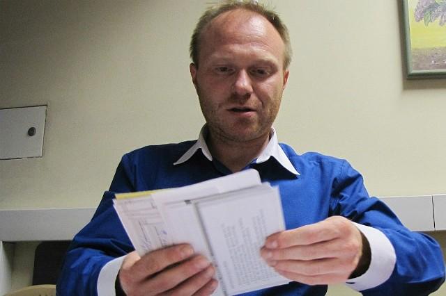 Waldemar Ruszel jest jednym z tych, którzy, robiąc interesy z Jarosławem K.,  popadli w  pułapkę zadłużenia.