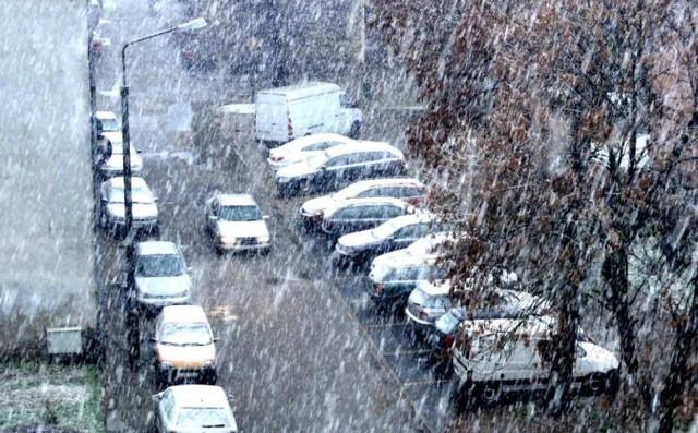 Na Pomorzu możemy spodziewać się we wtorek opadów  śniegu