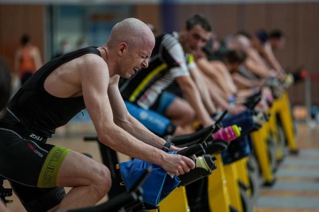 Indoor Triathlon Gdynia 2021 rozgrywany był na obiektach Akademii Marynarki Wojennej