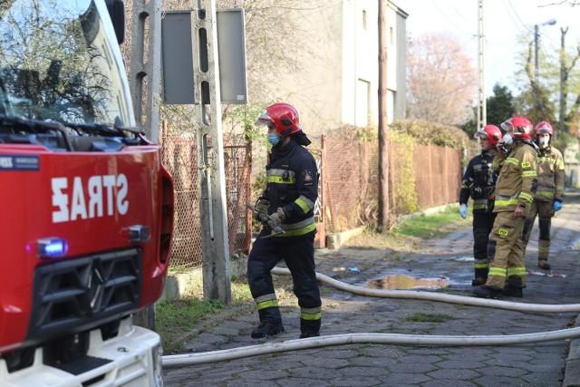 Do pożaru w Solcu Kujawskim doszło w czwartek rano. Na miejscu zginął mężczyzna.