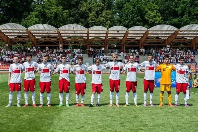 Młodzieżowa reprezentacja Polski już grała w Brzegu.