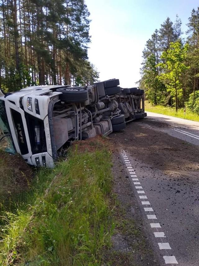 Wypadek na trasie Nowa Wola - Juszkowy Gród