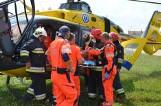 Wypadek w Konarach koło Rawicza - tir potrącił 5-letniego chłopca [ZDJĘCIA]