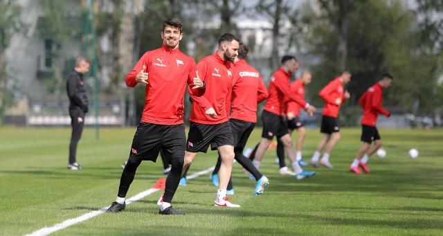 Piłkarze Cracovii rozpoczęli treningi w grupach
