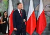 """Prezydent Duda w Krapkowicach: """"Nie ma w Polsce miejsca na ksenofobię, nacjonalizm i antysemityzm"""""""
