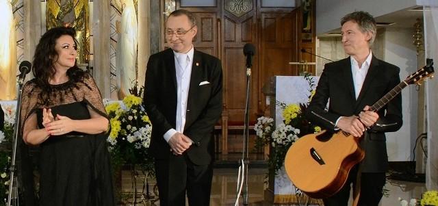 Na koncert zapraszają Alicja Węgorzewska, Robert Grudzień i Maciej Miecznikowski.