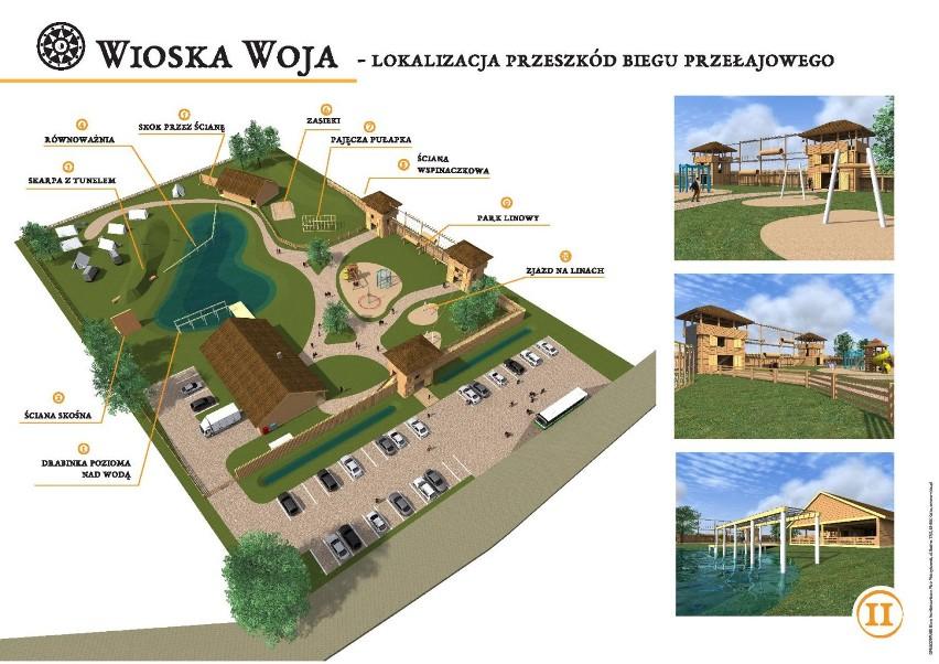 Wiosce Woja w Wojkowie