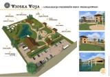 Wioska Woja w Wojkowie w gminie Błaszki za pieniądze z dotacji
