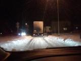 Łyski: Tiry codziennie blokują dojazd do miejscowości (zdjęcia)