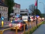 Wypadek w Bytomiu. Motocykl zderzył się z samochodem