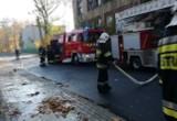 Pożar w szkole podstawowej w Pabianicach. Ewakuacja dzieci