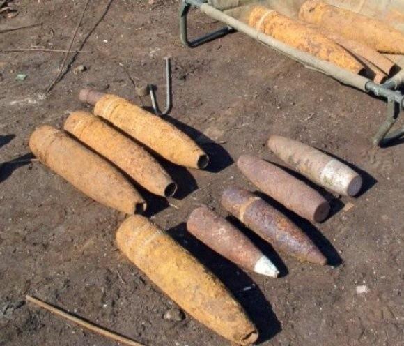 W ręce funkcjonariuszy i żołnierzy ŻW wpadł pokaźny arsenał niewybuchów i niewypałów leżących na poligonach koło Bornego Sulinowa i Drawska Pomorskiego.