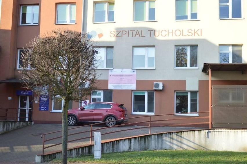 W sobotę, 29 maja, w tucholskim szpitalu zamknięto oddział...