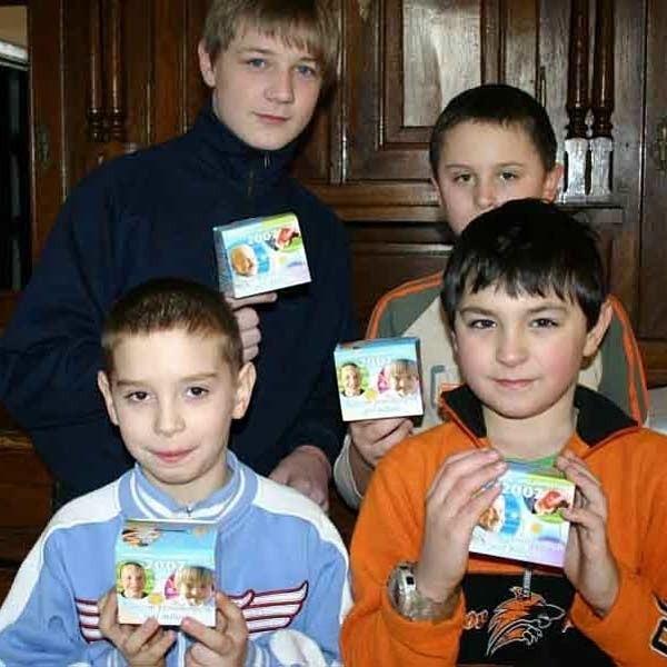 Każdego roku dzieci z parafii p.w. PKŚ zbierają po kilkaset złotych.