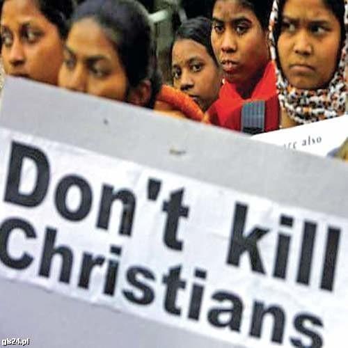 W części Indii trwają pogromy chrześcijan.