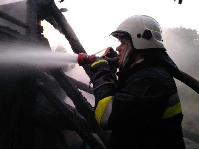W niedzielę po godz. 3 w nocy strażacy z OSP Janów otrzymali wezwanie do pożaru we wsi Podkantorówka.