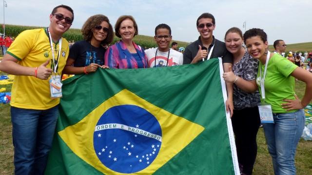 W katechezie nad kazimierskim zbiornikiem, podczas Światowych Dni Młodzieży 2016, wzięli też udział pielgrzymi z Brazylii. Gościła ich w swoim domu kazimierzanka Magdalena Bańdur.