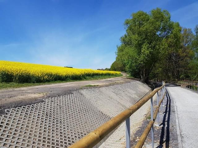 Przeciąga się oddanie do użytku Żelaznego Szlaku Rowerowego.
