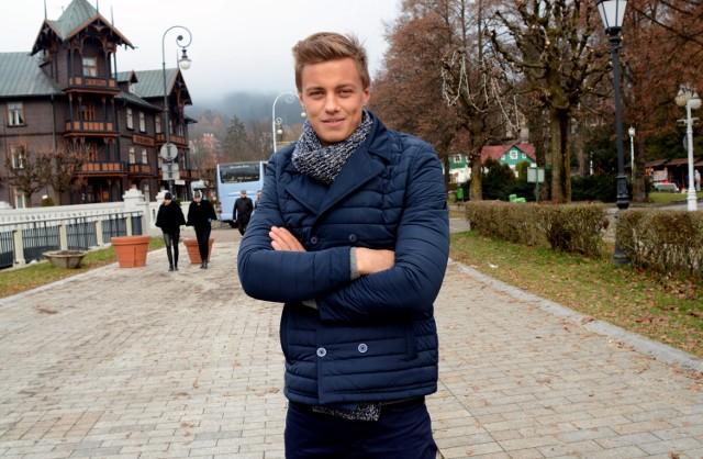 Rafał Jonkisz, 18-letni maturzysta z Rzeszowa, w listopadzie zdobył tytuł Mistera Polski 2015.