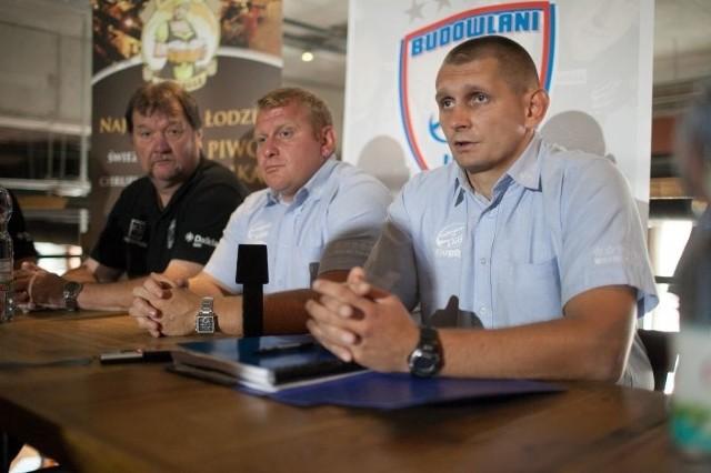 Od prawej: Przemysław Szyburski, Krzysztof Szulc i Grzegorz Białkowski.