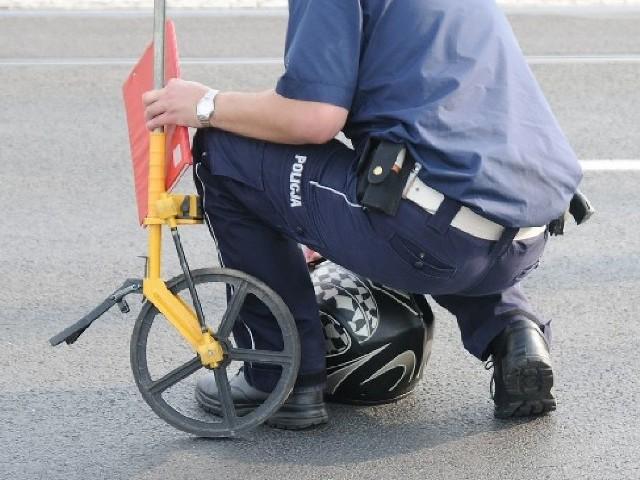 Okoliczności wypadku na ul. Konstytucji 3 Maja w Toruniu badają policjanci z Rubinkowa