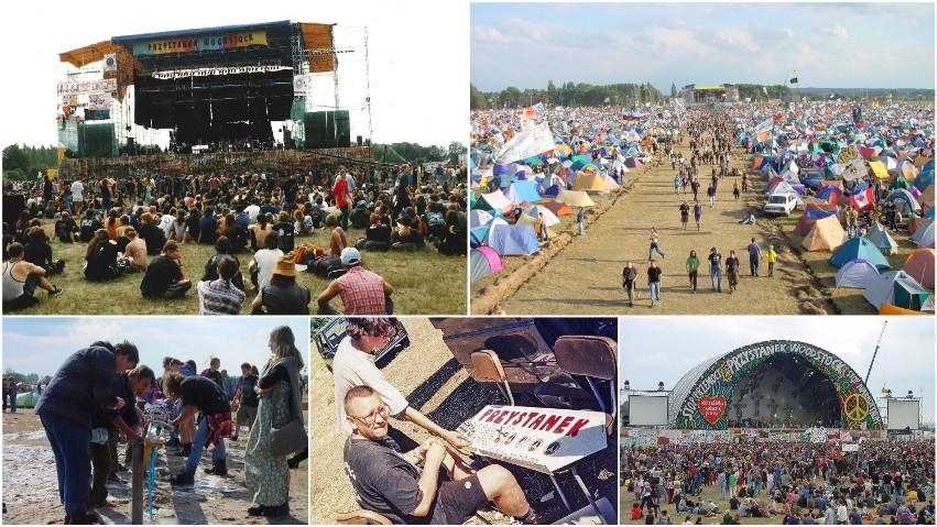 """Jak wyglądały kiedyś Przystanki Woodstock? Impreza zmieniała miejsce, nazwę, formę, raz odbyła się """"na dziko""""! [ZDJĘCIA]"""