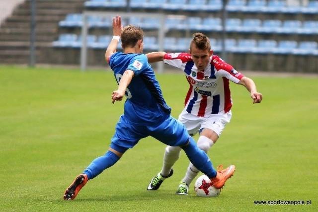 Opolscy piłkarze są beniaminkiem w Centralnej Lidze juniorów