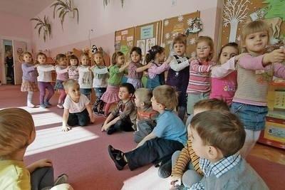 Dzieci z Przedszkola nr 130 przy ul. Krowoderskich Zuchów Fot. Anna Kaczmarz